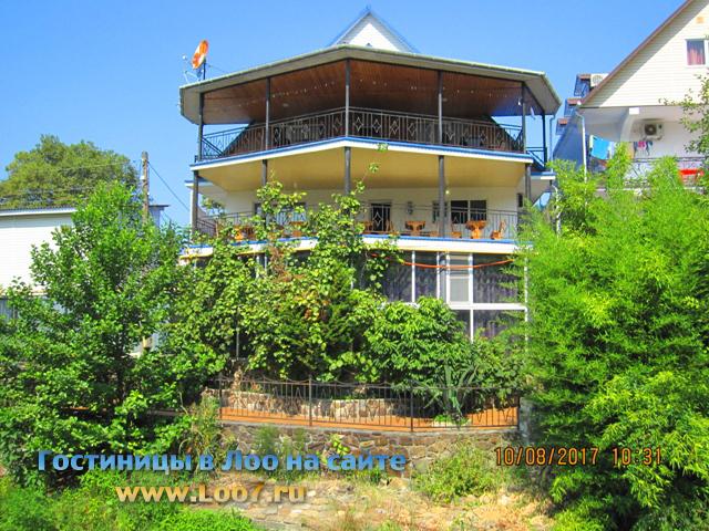 Частные гостиницы в поселке Лоо недорого