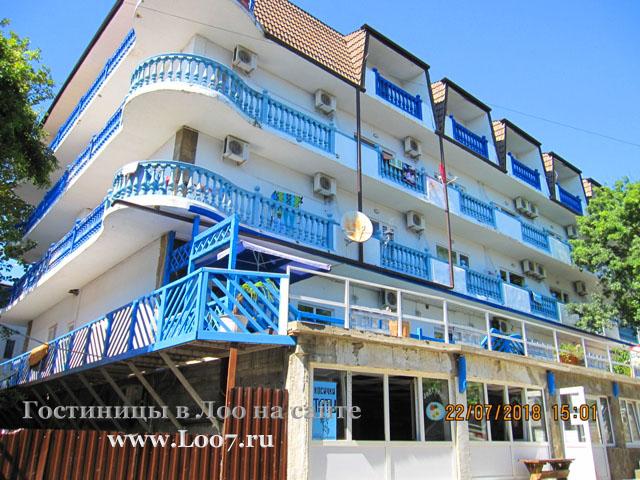 Гостиница в Лоо 45 у моря