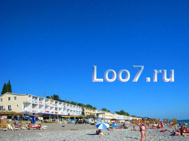 Отдых в Лоо цены частный сектор у моря