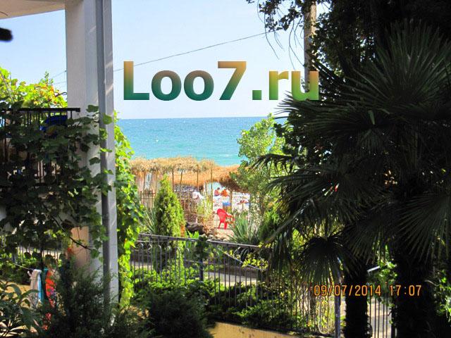 Поселок Лоо гостиницы у моря фото цены