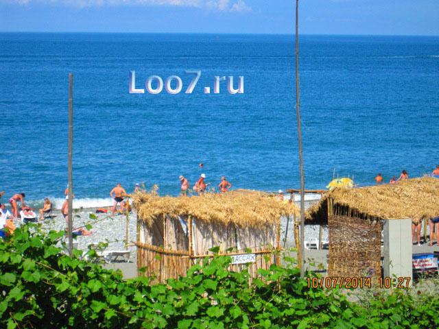 Отдых в Лоо фото пляжа отдыхающими