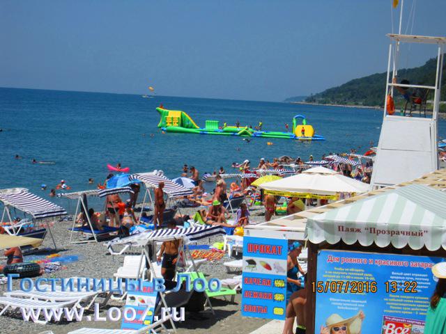 Отдых в Лоо морские развлечения на пляже, для детей и взрослых