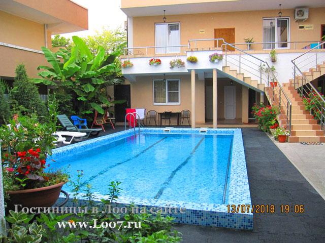 Гостиницы в Лоо с бассейном