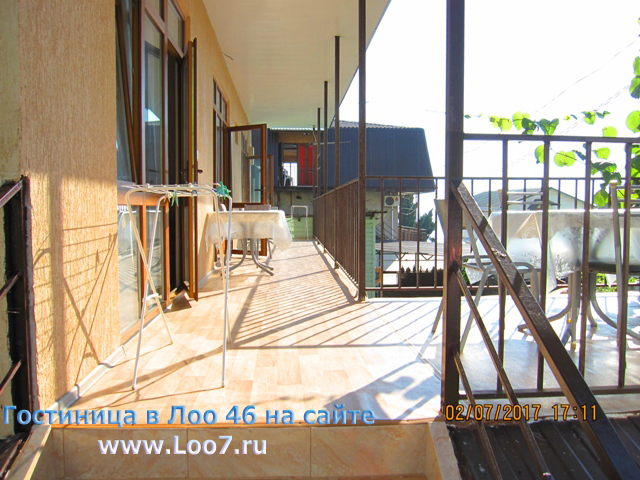 Гостиницы в Лоо у самого моря номера с балконами цена фото