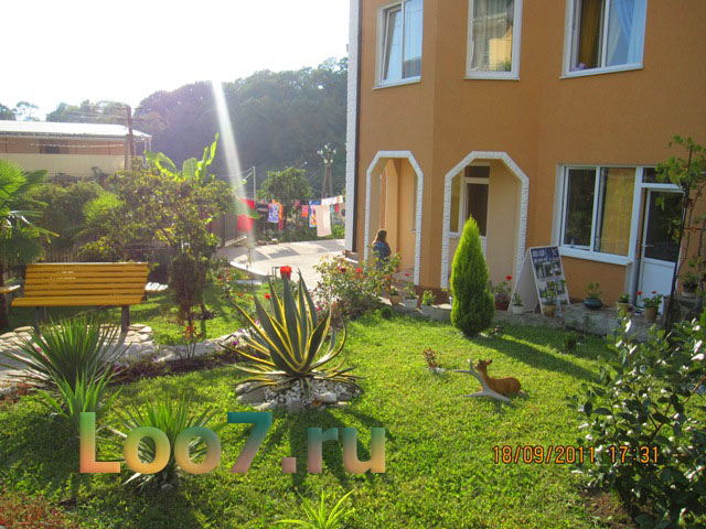 Отдых в Лоо гостиницы на ул енисейская