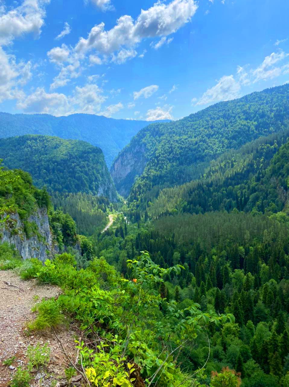 Джиппинг в Абхазию из Сочи на Гегский водопад и озеро Рица на 1 день