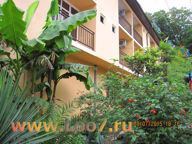 Частные гостиницы в Лоо горный воздух фото