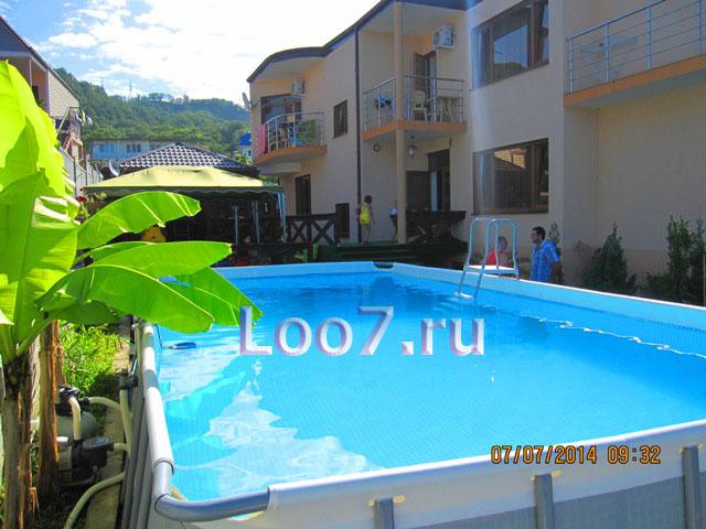 Частные гостиницы в Лоо с бассейном, цены фото отзывы