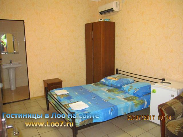 Гостиница в Лоо у самого моря трех местный номер стандарт стоимость фото