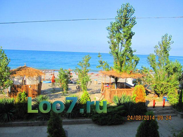 Отдых в Лоо частный сектор возле моря