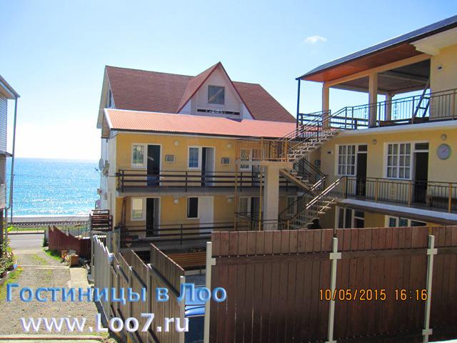 Вид с гостиницы на море фото