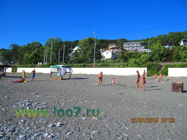 Лоо пляж фото частный сектор у самого моря