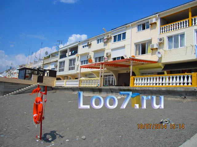 Отдых в Лоо 2015 цены у самого моря частный сектор эллинги