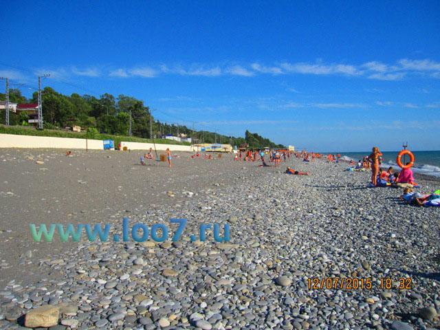 Лоо пляж фото отдыхающих