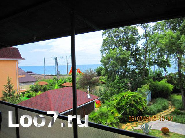 Лоо море гостевые дома цены недорого без посредников, забронировать номер отдыхающие могут заранее без предоплаты
