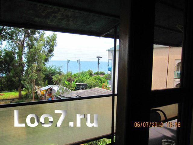 Лоо гостевые дома с видом на море с номера