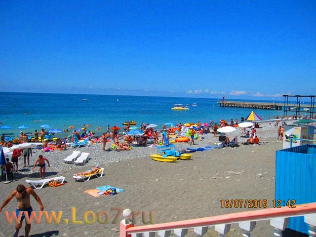 Лоо фото пляжа, отдых в Лоо фото