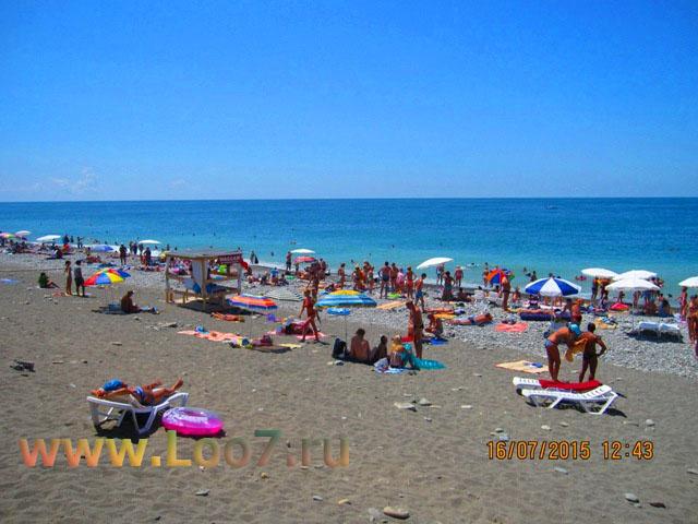 Пляж в Лоо рядом с эллингам фото