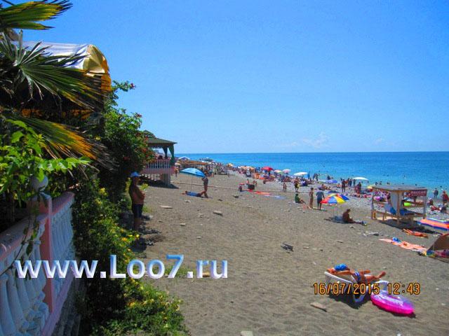 Какой пляж в Лоо песок или галька фото отзывы Комментарии