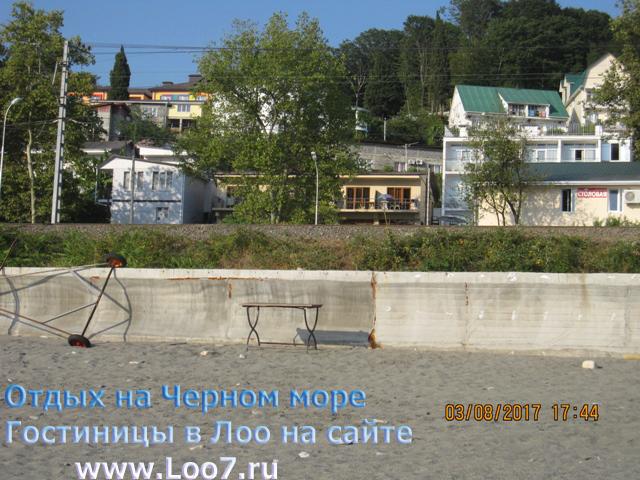 Гостиницы в Лоо возле моря частный сектор первая линия с бассейном
