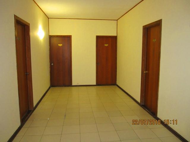 Общий коридор в гостинице