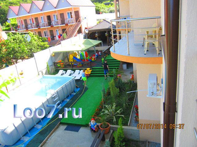 Отдых в поселке Лоо частный сектор фото