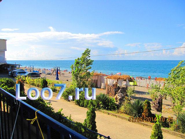 Лоо частные гостиницы рядом с морем, фото, цены отзывы