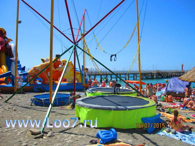 Развлечения для детей на пляже Лоо фото отзывы