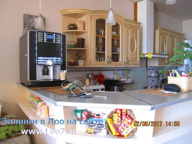 Эллинги в Лоо с кухней в номере цена