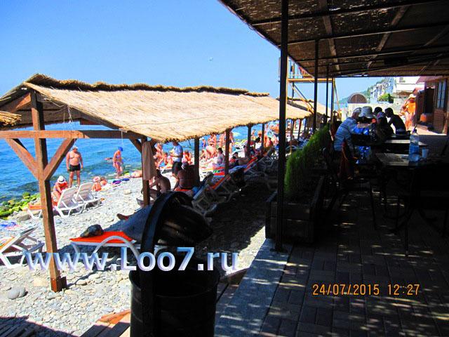 Центральный пляж в Лоо фото частный сектор