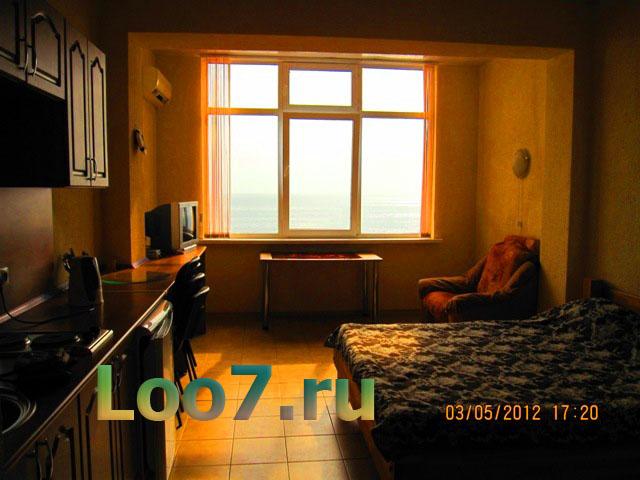 Лоо отдых в эллингах с кухней в номере