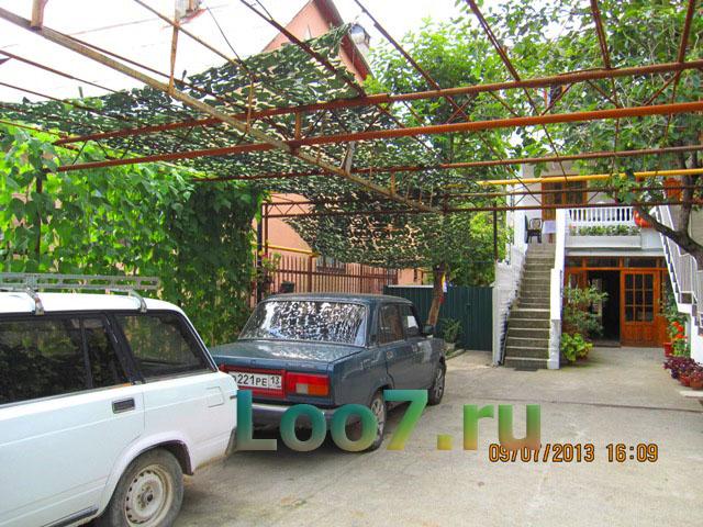 Гостевые дома в поселке Лоо