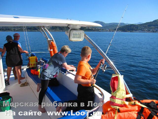 Отдых в Лоо экскурсии в Лоо морская рыбалка.