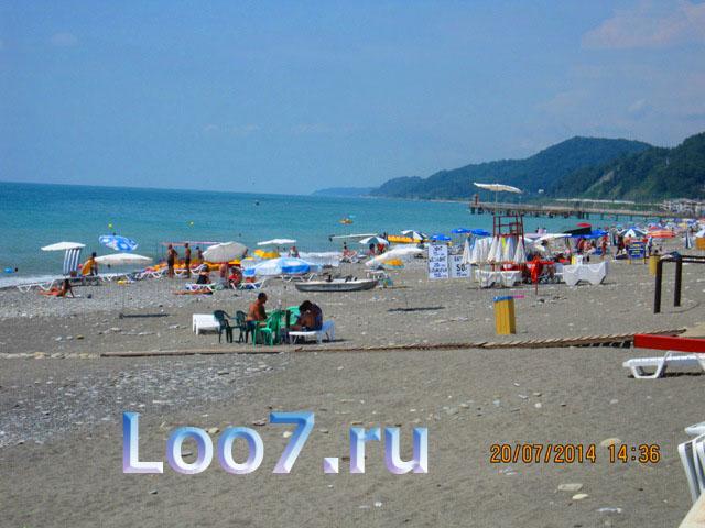 Отдых в Лоо гостевые домики на пляже