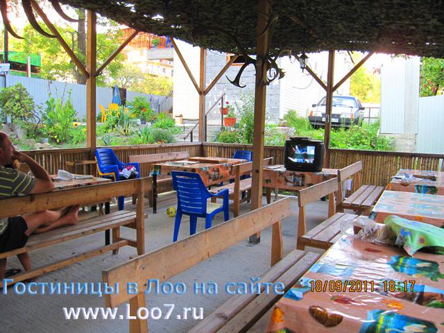 Домики в Лоо  с кухней детской площадкой садом фото