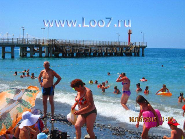 Лоо фото пляж