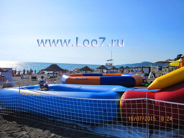 Отдых и развлечения на пляже Лоо в горном воздухе