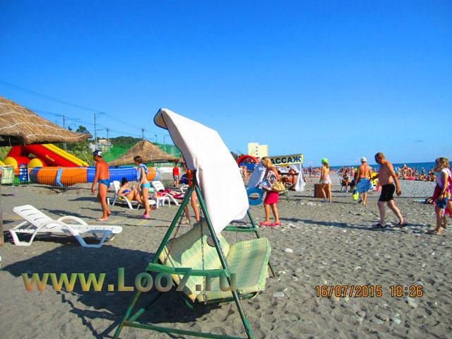 Отдых в Лоо пляж горный воздух фото описание отзывы