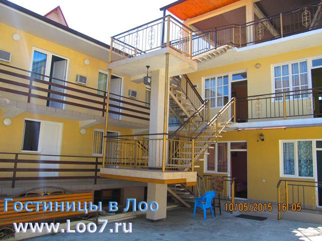 Гостиница в Лоо у самого моря цены фото отзывы