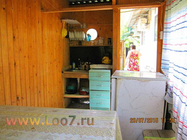 Домики в Лоо с своей кухней в номере цены фото