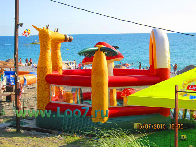 Горный воздух пляж в Лоо фото