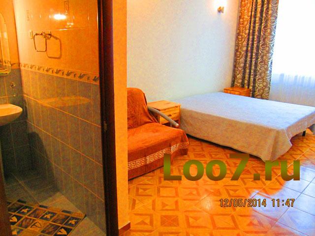 Гостиницы в Лоо недорого у моря