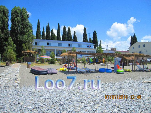 Отдых в Лоо частный сектор гостиницы возле моря