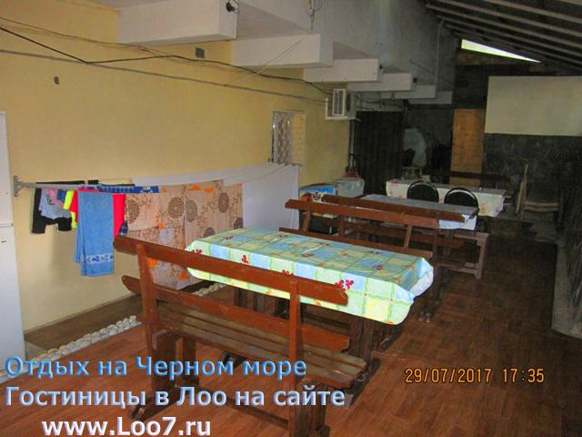 Номер в эллинге с балконом и кухней в номере