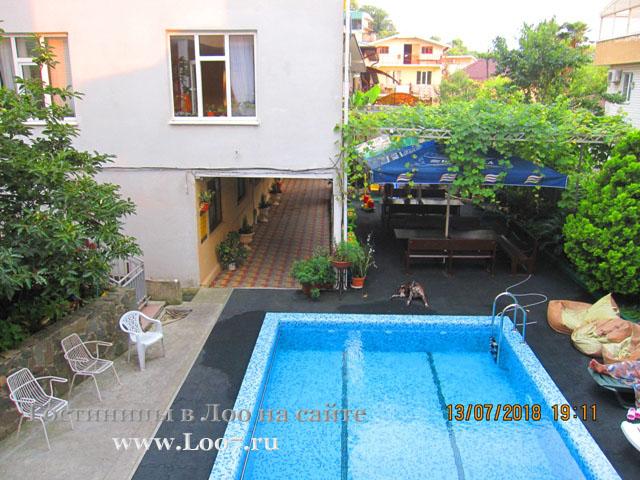 Отели и гостевые дома и гостиницы в лоо с бассейном