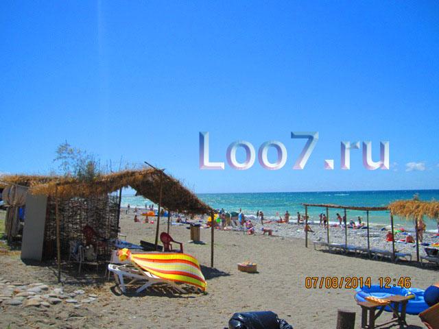 Лоо пляж рядом с частной гостиницей