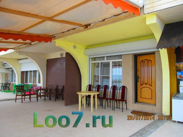 Отдых в Лоо частные гостиницы возле моря