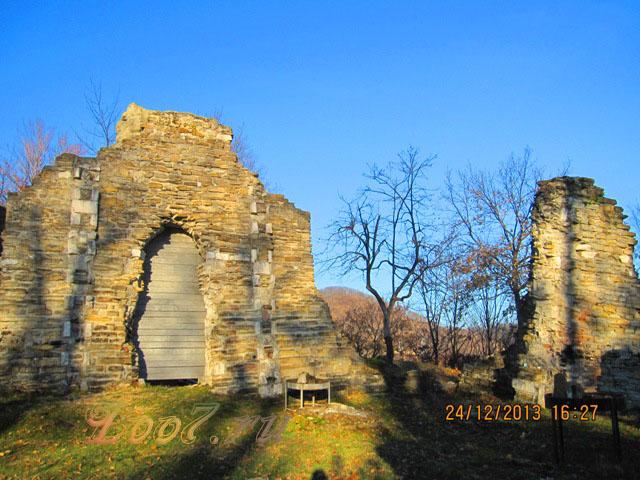 Остатки Византийского в Лоо храма