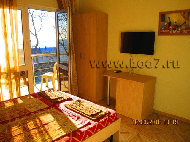 Гостиницы на Черном море в Лоо частный сектор у моря фото цены отзывы