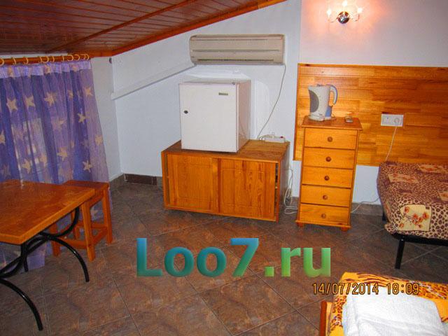 Лоо гостиницы возле моря